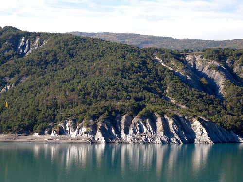 Lac de Serre-Ponçon. Foto Girolame