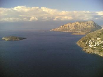 Uitzicht Kalymnos. Foto Emma and Michaels excellent adventures