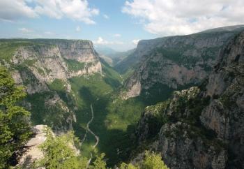Wandelen in Griekenland. foto Douwe Laansma