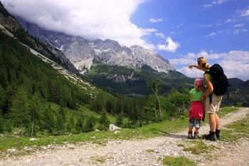 Bergwandelen met kinderen. Foto Jonathan Vandevoorde