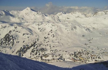 Skiën in Obertauern, Oostenrijk. Foto Criga