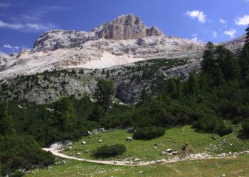 Fietsen in Val Badia. Foto Jonathan Vandevoorde