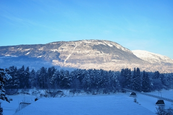Voss in Noorwegen. Foto Erik Ostlie