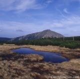Snezka. De hoogste berg van Tsjechië