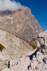 Corno Grande, een van de hoogste toppen in de Abruzzen. Foto wolfango