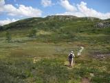 Wandelen in Noorwegen. foto A Visscher