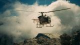 martin_vmorris. Helikopter in de Dolomieten
