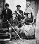 Lucy_Walker,_Frank_Walker,_Melchior_Anderegg,_Adolphus_Warburton_Moore in 1871
