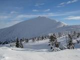 Sneeuwkop. Hoogste berg van Tsjechië. Foto Dorocia