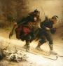 19e eeuwse skiërs