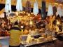 Een markt met lokale producten in het Franse skigebied Châtel