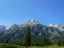 De top van de Eiskogel in het Tennengebergte in Oostenrijk