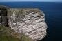 The Great Stack of Handa in Groot-Brittanië in de Schotse Hooglanden