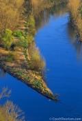 Rivier de Elbe (Labe in Tsjechisch)