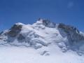 Eltouristo. Mont Maudit gezien vanaf de Mont Blanc du Tacul