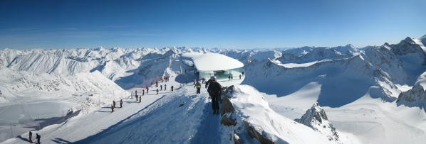 Pitztaler Gletscherbahn, Visualisierung Baumschlager Hutter Partners