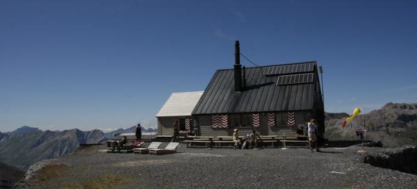 De Fründenhütte op de Fründenhorn.
