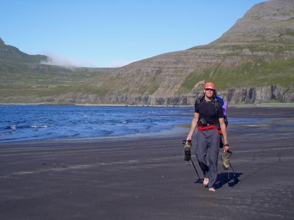 Matthieu Veldhuis in IJsland