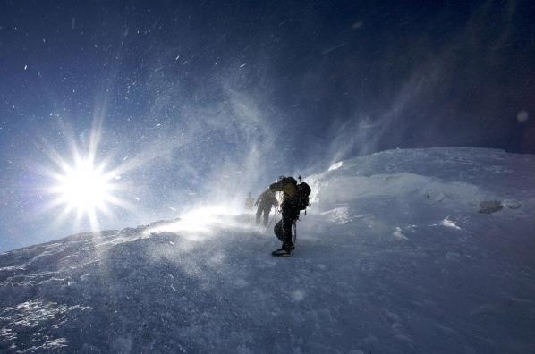 Op de Mont Blanc. Foto Ruben van Duin