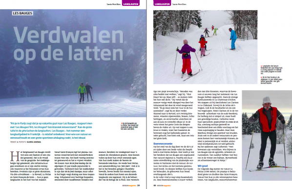 Verdwalen op de latten in Bergen Magazine