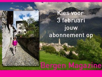 Kies voor 3 februari jouw abonnement op Bergen Magazine