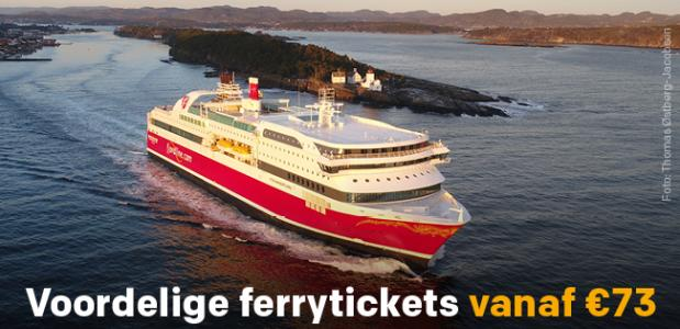 fjordline aanbieding