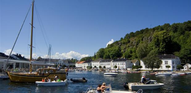 De kust van Zuid Noorwegen. Foto: Matti Bernitz/www.visitnorway.com