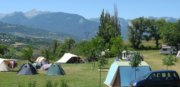 Camping Les Eygas & Luxe Chalets - Zuid-Franse Alpen