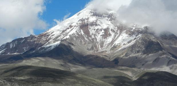 Chimborazo hoogste berg