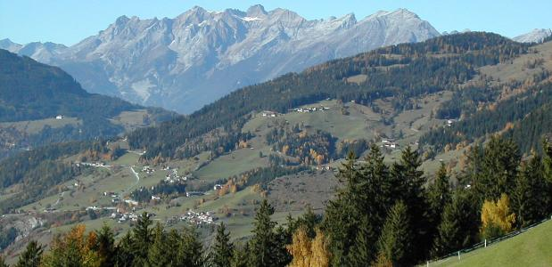 bergwandelroute Kaunerberg