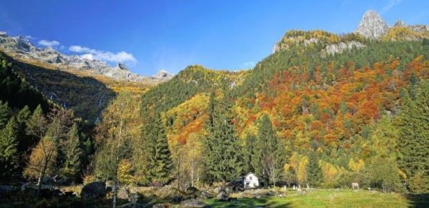 Wandeltochten Val di Mello