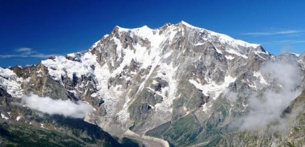 wandelen langs Monte Rosa Oostwand