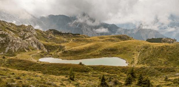 Wandelen op de Karnischer Höhenweg