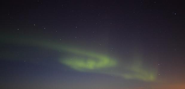 Noorderlicht in IJsland - Foto Jonathan Vandevoorde