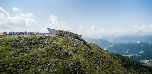 Het Messner Mountain Museum. Foto via messner-mountain-museum.it