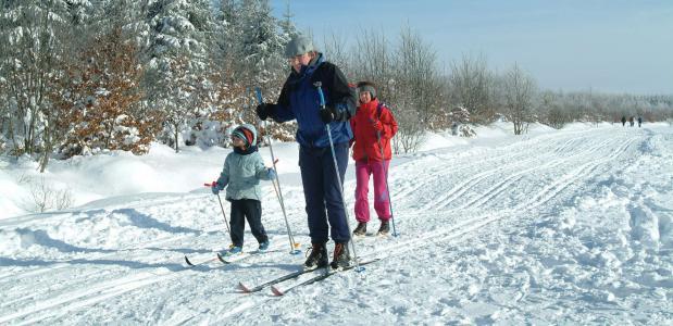 Skiën in de Ardennen. Foto (c)OPT-J.LFlemal