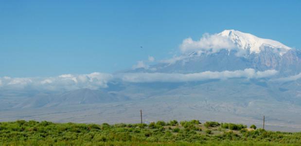 Berg Ararat in Turkijke. FOto Seroujo