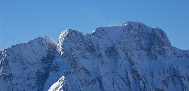 Jof di Montasio in de Julische Alpen in Italië. Foto chripell