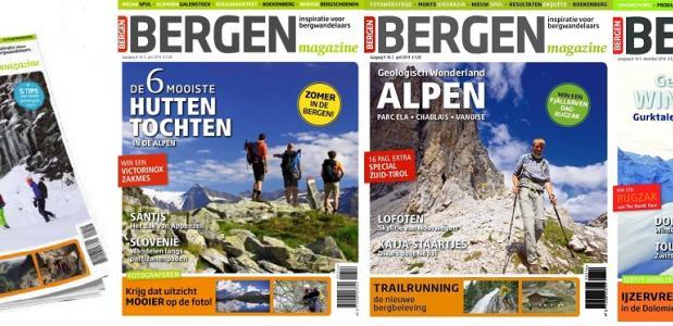 Bergen Magazine tijdschrift voor bergsporters