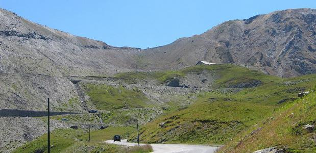 De Col du Galibier. Beeld door Stephan Brunker via Wikimedia.