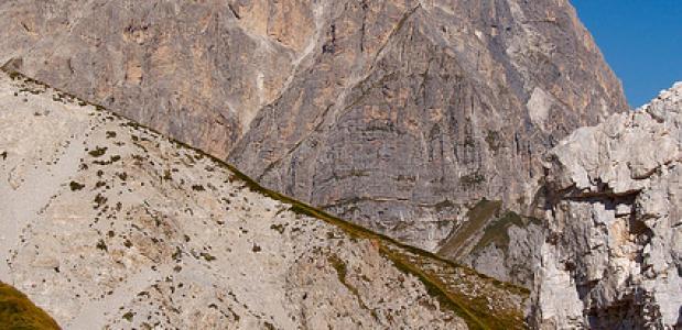 Corno Grande - een van de hoogste toppen in de Abruzzen. Foto wolfango