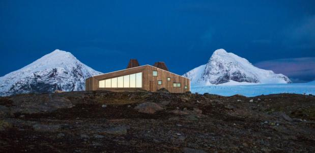 Opening design berghut in noord noorwegen bergwijzer - Berghut foto ...