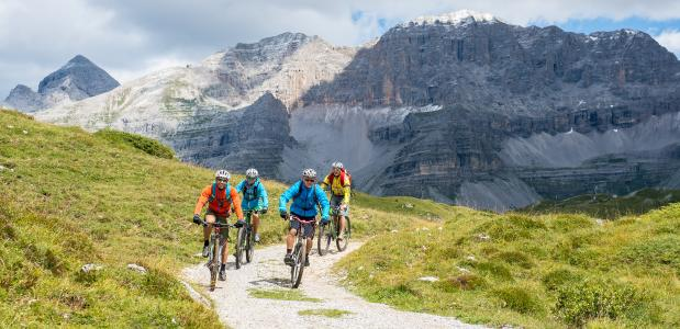 Mountainbiken in de Brenta-Dolomieten