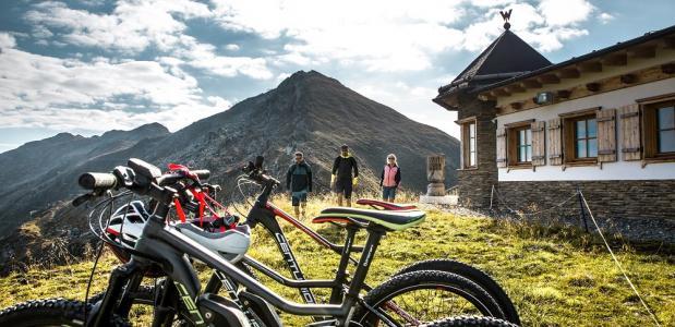 Bike&hike-routes in de alpen