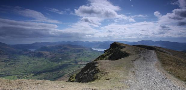 Uitzicht vanaf de Blencathra ©Phil and Pam