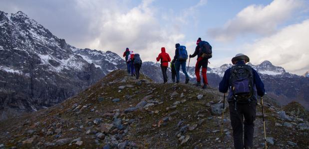 Trektocht over de grens van de Rätikon naar de ruige Silvretta