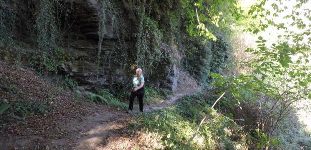 Wandelen over het Lieserpfad