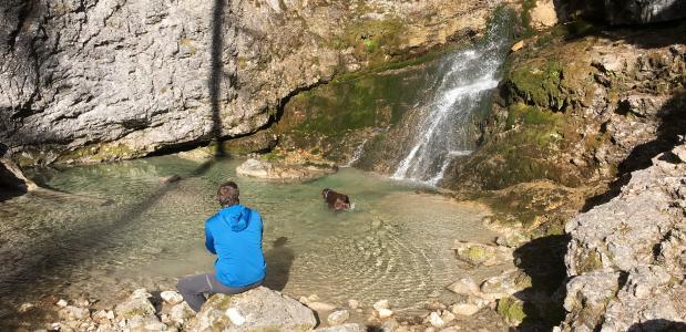 Wandelen met je hond in de Dolomieten
