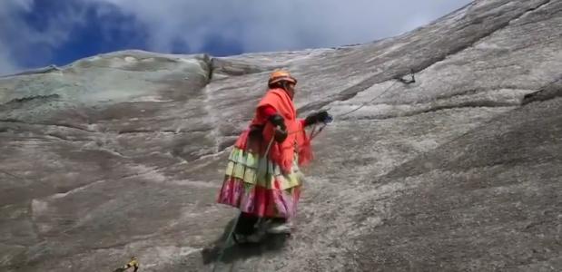 Boliviaanse Cholitas