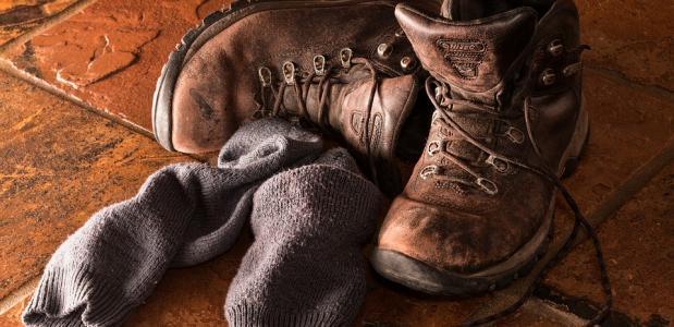 schoenkasten voor je bergschoenen